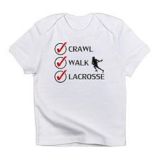 Crawl Walk Lacrosse Infant T-Shirt