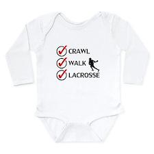 Crawl Walk Lacrosse Body Suit