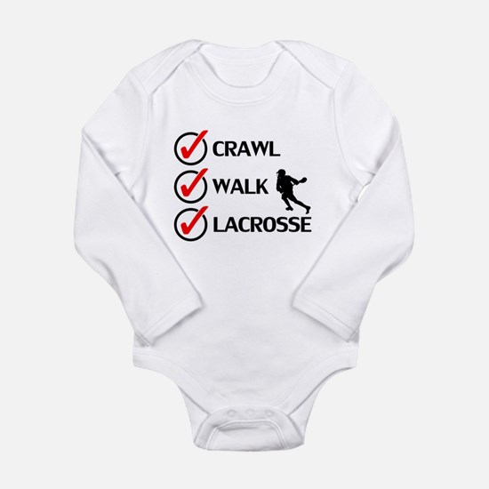 Crawl Walk Lacrosse Body Suit