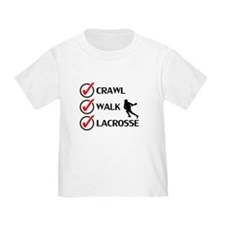 Crawl Walk Lacrosse T-Shirt