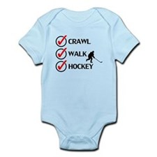 Crawl Walk Hockey Body Suit