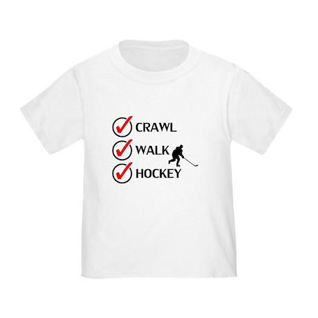 Crawl Walk Hockey T-Shirt