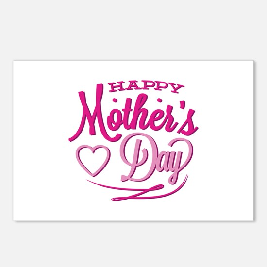 Happy Mother's Day Postcards (Package of 8)