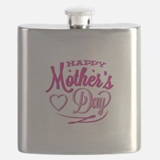 Happy Mother's Day Flask