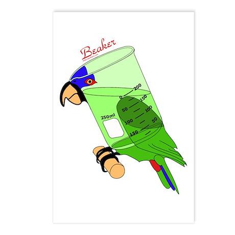 Beaker chemistry Postcards (Package of 8)