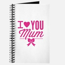 I Love You Mum Journal