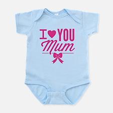 I Love You Mum Onesie