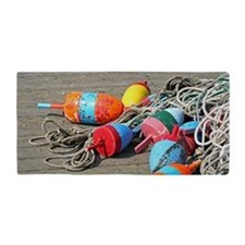 Lobster Buoys Beach Towel