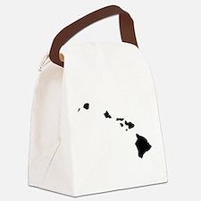 Black Canvas Lunch Bag