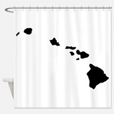 Black Shower Curtain