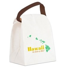 Hawaii Canvas Lunch Bag