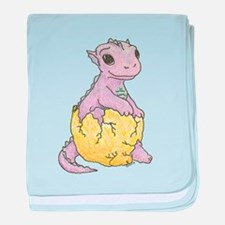 Dragon Hatchling Cotton Baby Blanket