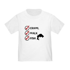 Crawl Walk Fish T-Shirt