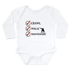 Crawl Walk Snowboard Body Suit