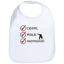Crawl Walk Snowboard Bib