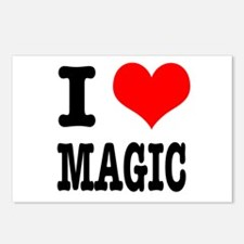 I Heart (Love) Magic Postcards (Package of 8)