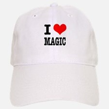 I Heart (Love) Magic Baseball Baseball Cap