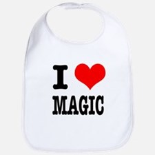 I Heart (Love) Magic Bib