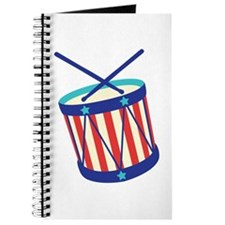Stars Stripes Drum Journal