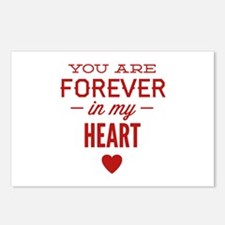 You Are Forever In My Heart Postcards (Package of