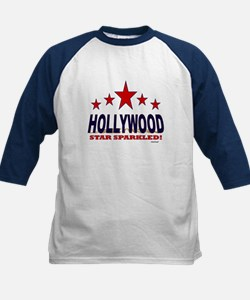 Hollywood Star Sparkled Kids Baseball Jersey