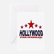 Hollywood Star Sparkled Greeting Card