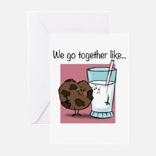 Cookies and Milk Greeting Cards (Pk of 10)