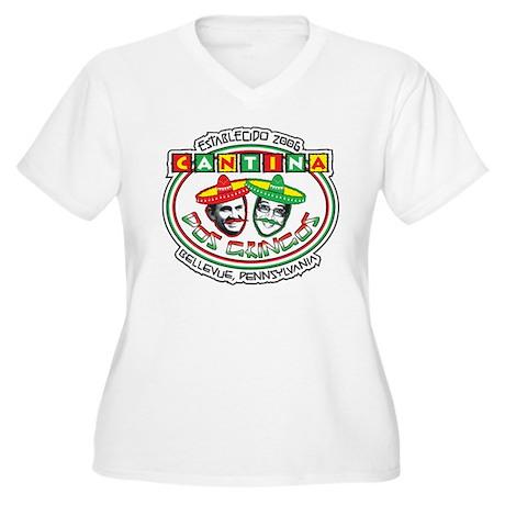 Cantina Dos Gringos Women's Plus Size V-Neck T-Shi