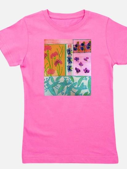 Art Nouveau Flowers T-Shirt