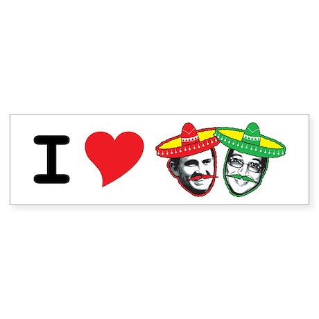 Cantina Dos Gringos Bumper Sticker