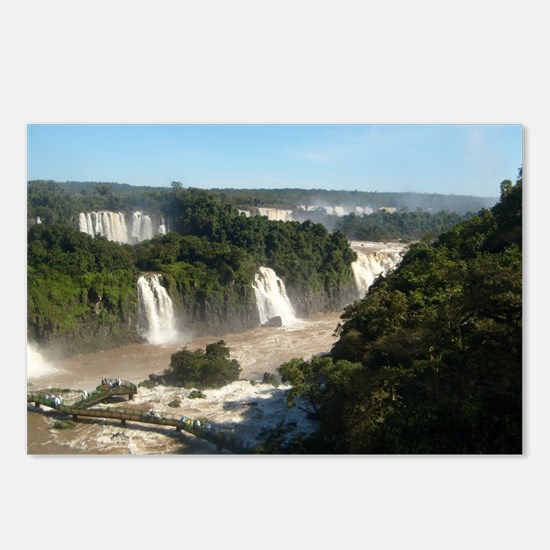 Iguassu Falls Postcards (Package of 8)