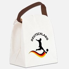 Soccer Deutschland Player Canvas Lunch Bag