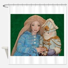 Clara and the Nutcracker Shower Curtain