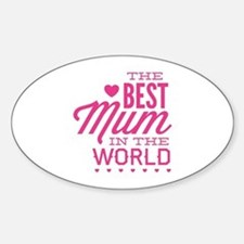 The Best Mum In The World Decal