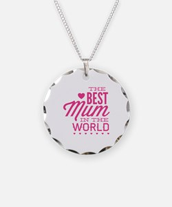 The Best Mum In The World Necklace