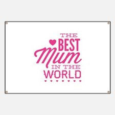 The Best Mum In The World Banner