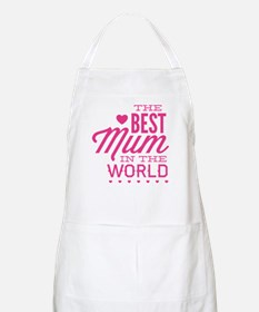 The Best Mum In The World Apron