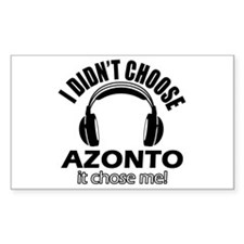 I didn't choose Azonto Decal