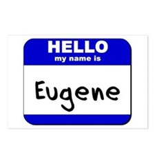 hello my name is eugene  Postcards (Package of 8)