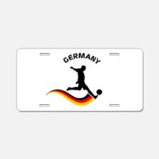 Soccer GERMANY Player Aluminum License Plate