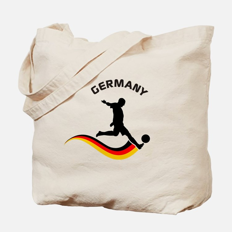 Soccer GERMANY Player Tote Bag