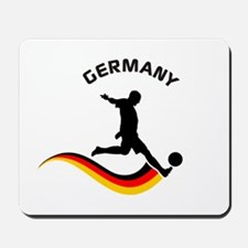Soccer GERMANY Player Mousepad