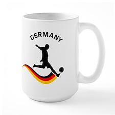 Soccer GERMANY Player Mug