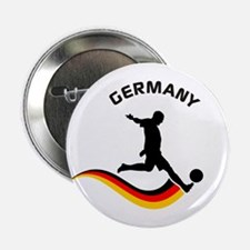 """Soccer GERMANY Player 2.25"""" Button"""