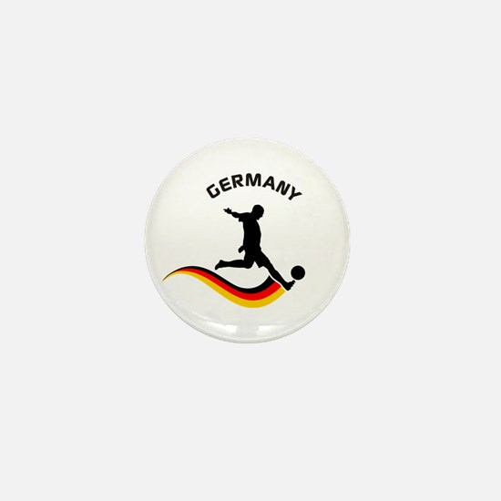 Soccer GERMANY Player Mini Button