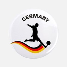 "Soccer GERMANY Player 3.5"" Button"