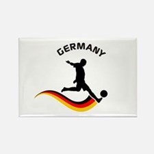 Soccer GERMANY Player Rectangle Magnet