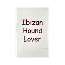 Ibizan Lover Rectangle Magnet