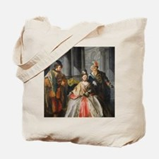 Three Figures Dressed for a Masquerade Tote Bag