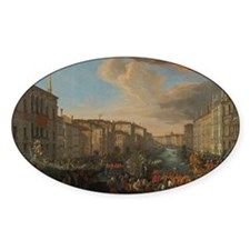 Regatta on the Grand Canal Decal